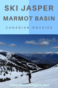 Jasper Ski Resort - Marmot Basin - This is a fantastic place to visit and ski in the springtime.