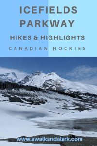 Icefields Parkway - Hikes and Highlights