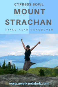 Mount Strachan - Great hike in the Cypress Bowl near Vancouver