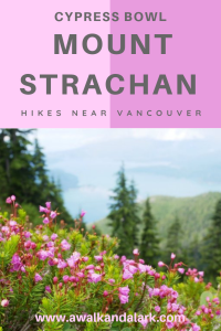 Mount Strachan on Vancouver's North Shore