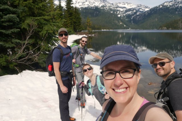 Callaghan Lake Provincial Park - Our hike was a failure, but the views were fab