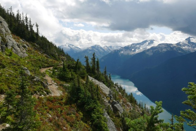High note trail views of Cheakamus trail