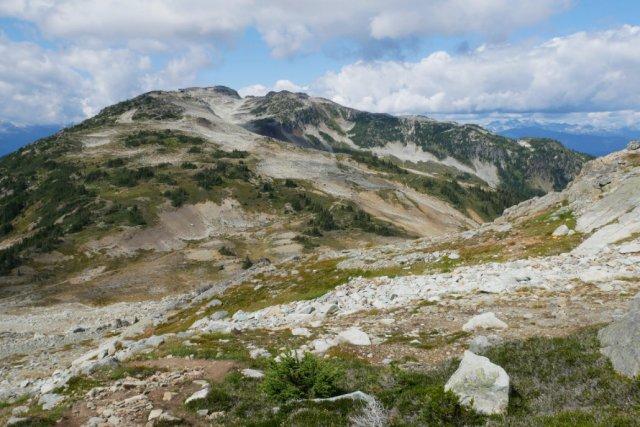Whistler Peak from Flute Peak