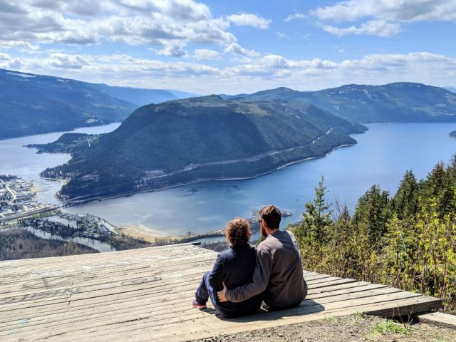 Sicamous Lookout - you can drive up to this viewpoint