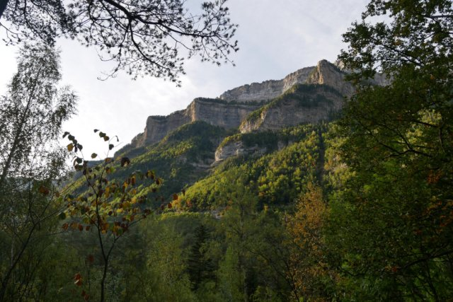 Views up from pradera de Ordesa