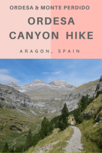 Faja de Pelay is a fun hike in Ordesa y Monte Perdido National Park