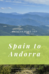 Catalan Road Trip - Spain to Andorra - Views along the road