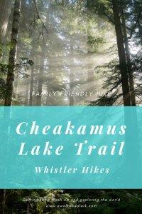 Cheakamus Lake Trail - beautiful hike through the forest