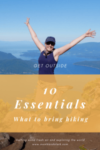 The 10 essentials - what you should pack in your bag for hikes