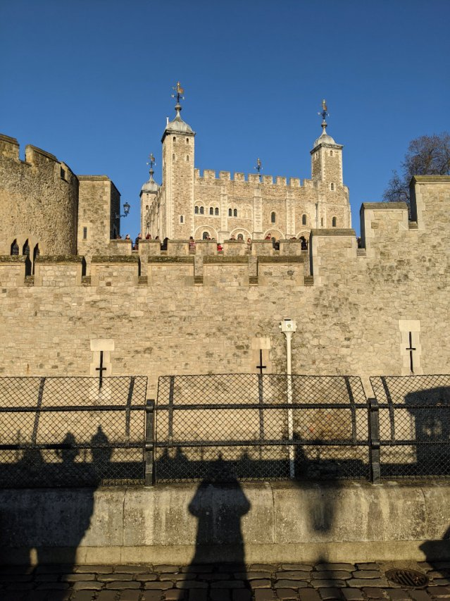 Views of the Tower of London