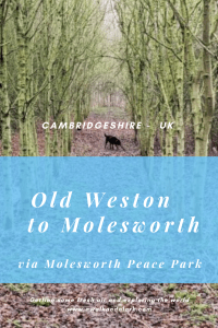 Old Weston to Molesworth via RAF Molesworth and the Peace park