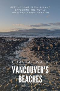 Vancouver's beaches - coastal walk to UBC