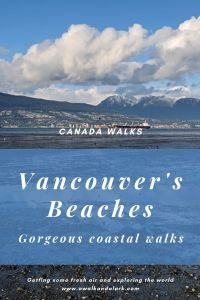 Vancouver's beaches - gorgeous coastal walk near the city