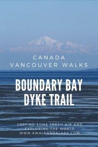 Boundary Bay Dyke Trail - Our self isolation walk