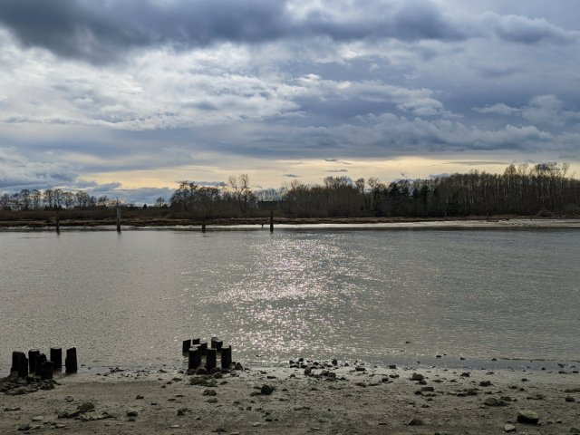 Final view of the Fraser River