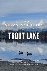 Trout Lake - Vancouver's community parks Canada