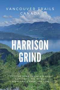 Harrison Grind - a fun trail near Vancouver with fantastic views over Harrison Lake