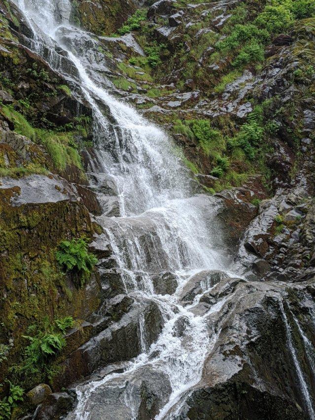 Close up of Flood Falls