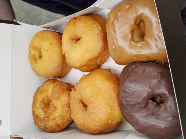 Deep Cove Honey Doughnuts