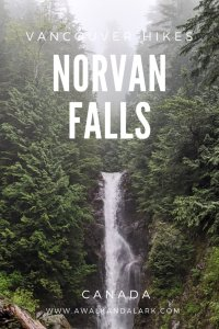 Norvan Falls - A lovely hikes in North Vancouver, Canada