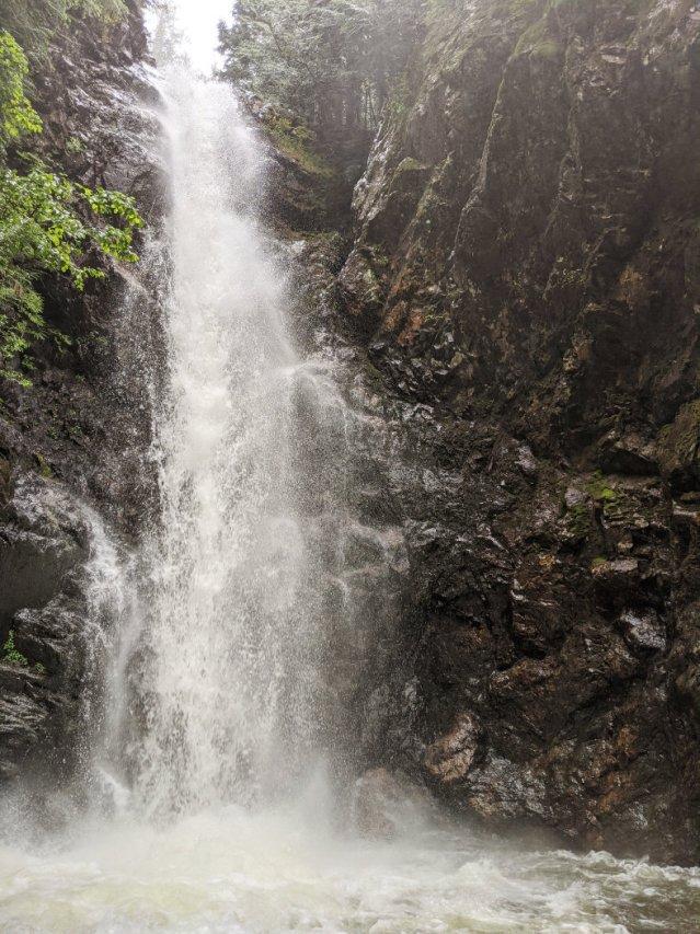 Norvan Falls super close up