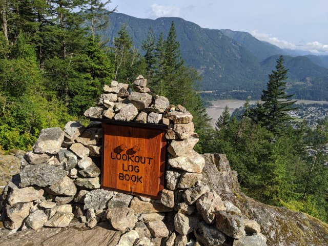 Hope Lookout - gifts and a book inside