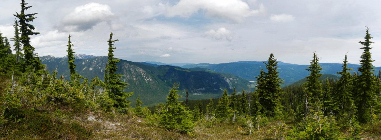 Panorama from Zoa peak trail