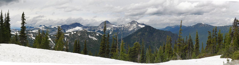 Panorama from Zoa peak