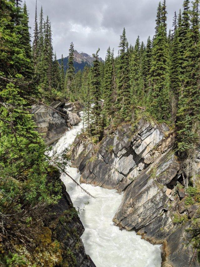 Amazing water near Laughing Falls