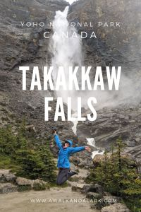 Takakkaw Falls in Yoho National Park - Amazing waterfall in the Rockies