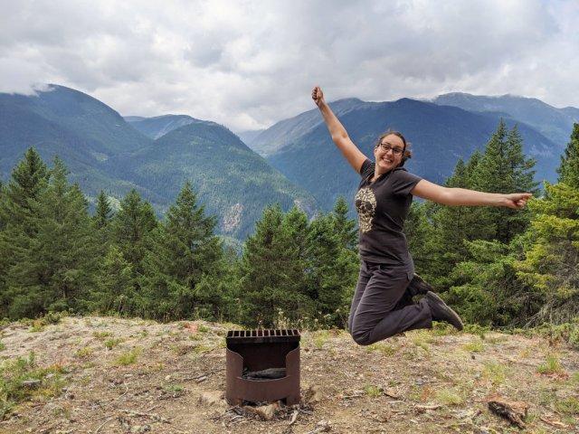 Tikwalus Heritage trail campsite jump