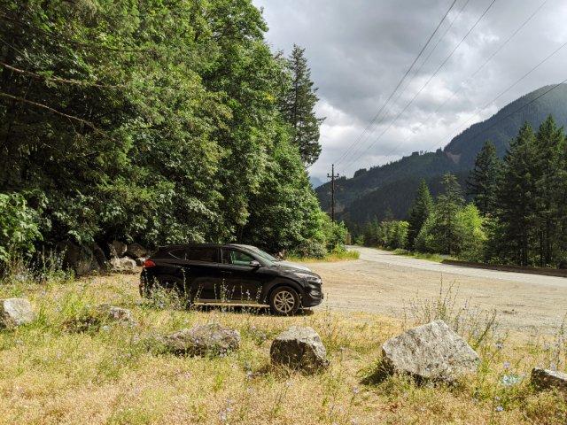 Tikwalus Heritage trailhead parking