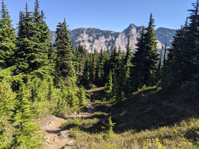Yak peak from the needle peak trail
