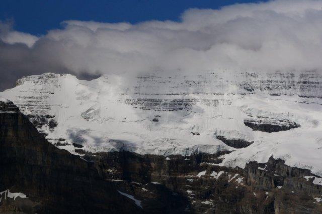 Glacier views Mount Victoria