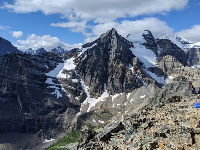 Haddo Peak and Mount Aberdeen