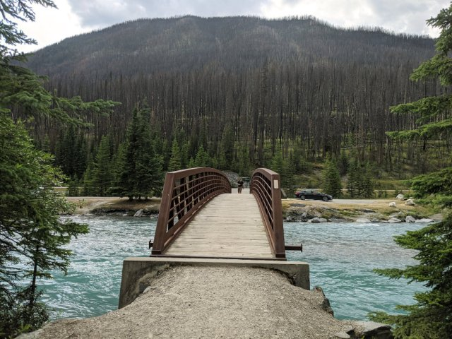 Crossing the Vermilion River
