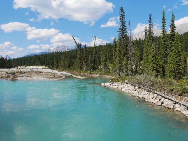 Crazy vermilion River colours