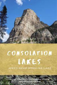 Consolation Lakes - Hikes near Moraine Lake in Banff, Canada
