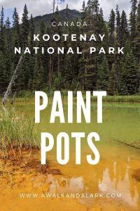 Kootenay National Park's Paint Pots