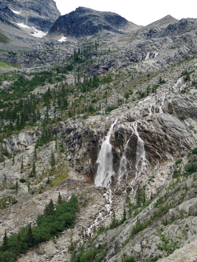 Illecillewaet Glacier Falls from afar