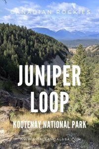 Juniper Loop near Redstreak Campground - Kootenay National Park