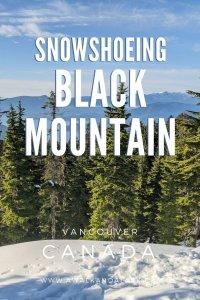 Fun snowshoeing near Vancouver - Black Mountain