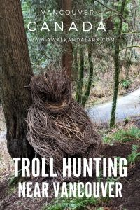 Troll Hunting in Robert Burnaby Park near Vancouver