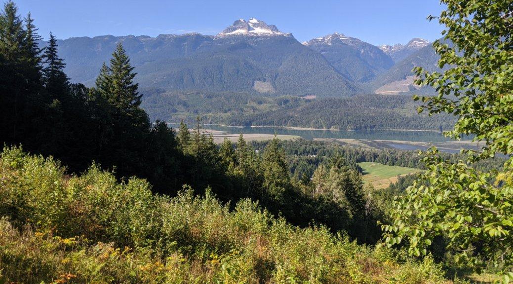 Mount Begbie from Mount Mackenzie