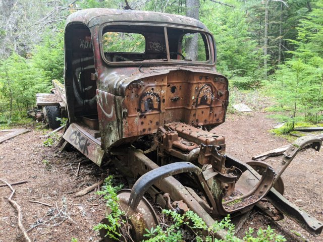 One of the Parkhurt Ghost Town Cars