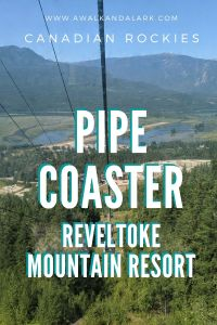 Ride the Pipe Coaster in Revelstoke Mountain Resort, Canada