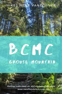 BCMC trail - alternative to Grouse Grind in Vancouver