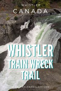 The trail to Whistler train wreck has a fantastic waterfall too - Balls Falls