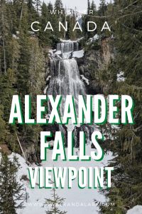 Alexander Falls free viewpoint - You can get to this viewpoint without even hiking