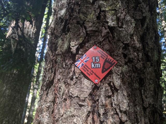 HBC trail blazes to show the way